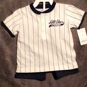 Carter's 18M baseball set